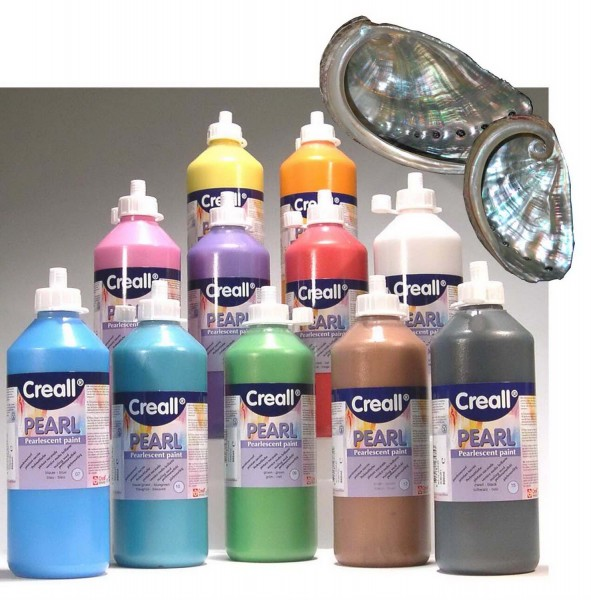 Perlmuttfarbe Creall-Pearl SET alle 13 Farben je 500 ml