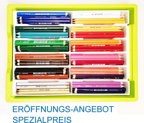 NEU: Trendline Spezial-Sortierung Jolly X-BIG Buntstifte 168 Stück in 24 Farben inkl. Kunststoffbox