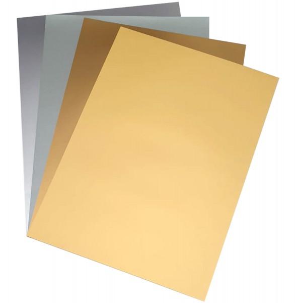 Tonpapier/Naturpapier 130 g/qm von Folia SONDERFARBEN, Format 50 x 70 cm, Preis pro 10er-Pack
