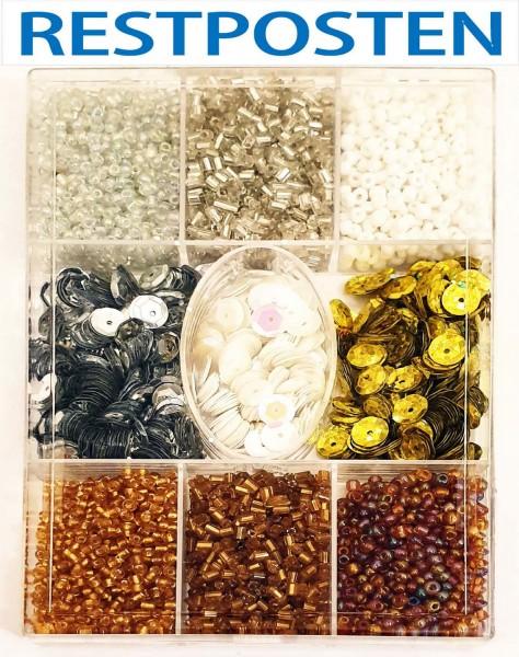 Perlen und Pailletten-SET in 9 Farben