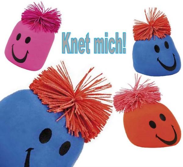 Knautschball-Antistressball, Preis für 3 Stück sortiert