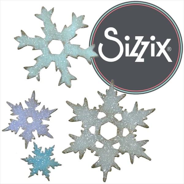 Sizzix Bigz L: Stacked Snowflakes