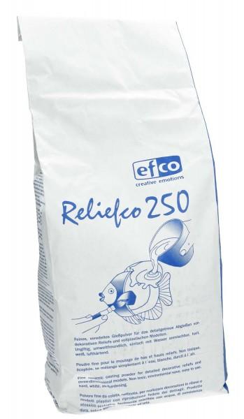 Gießpulver /Gießmasse Reliefco 250, Farbe Weiß, 5 kg im Beutel