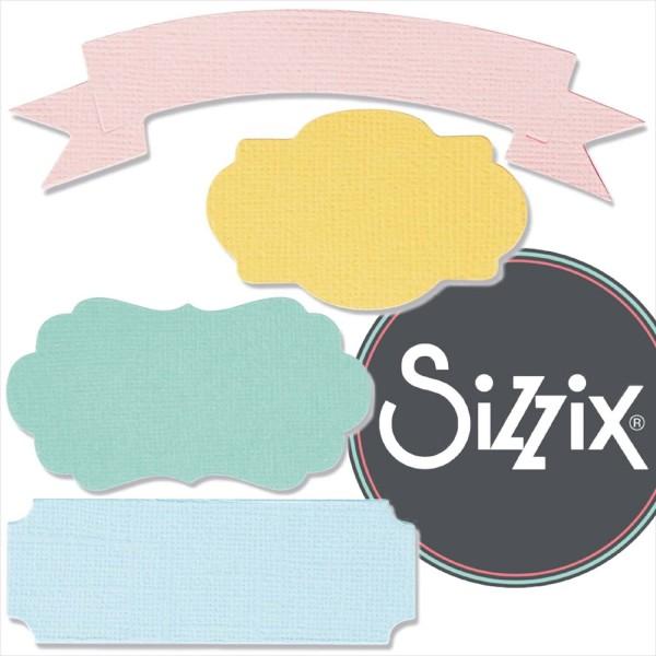 Sizzix Bigz: Banners & Labels