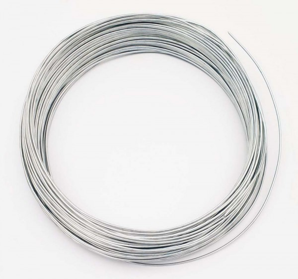 Aluminiumdraht blank, 50 m