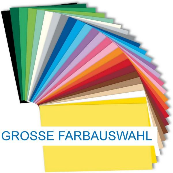 Tonpapier/Naturpapier 130 g/qm von Folia, Format A3, 50 Blatt einer Farbe