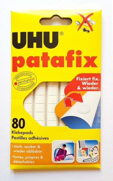 Uhu Patafix Klebepads, Packung mit 80 Stück