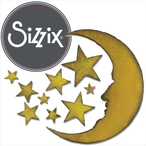 Sizzix Bigz: Mond und Sterne