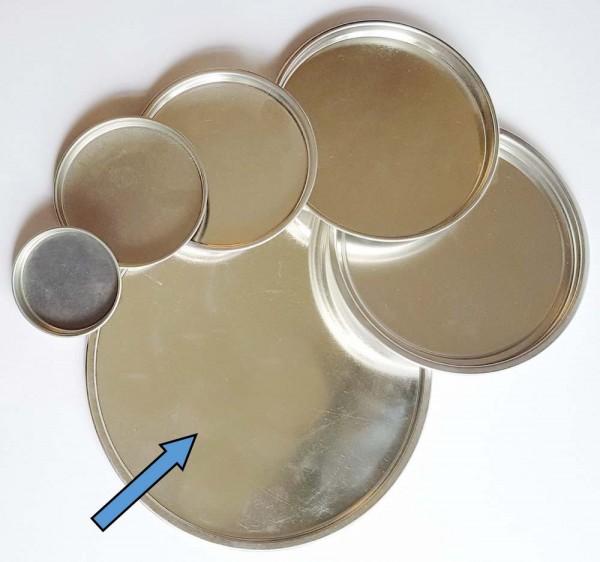 Metallschmelzformen rund, 60 - 195 mm