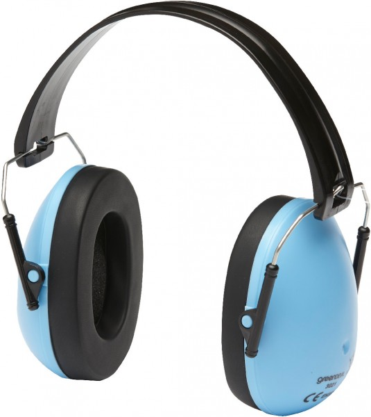Kapsel-Gehörschutz Safety Kids Blue (Lärmschutz-Kopfhörer) speziell für Kinder