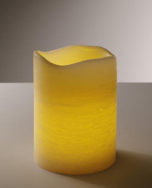 LED-Echtwachskerze Indoor, 15 x 20 cm