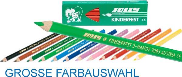 Jolly Supersticks DELTA 3-kant Buntstifte, Packung mit 12 Stück pro Farbe