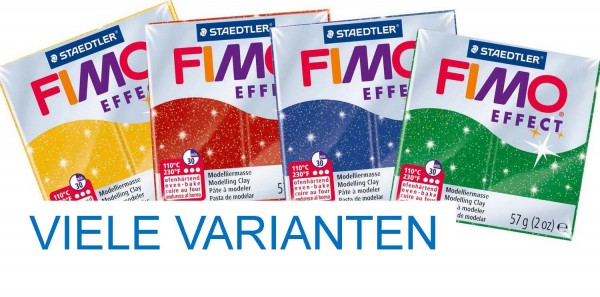 Fimo Effect Glitter, 57 g, Preis pro Stück