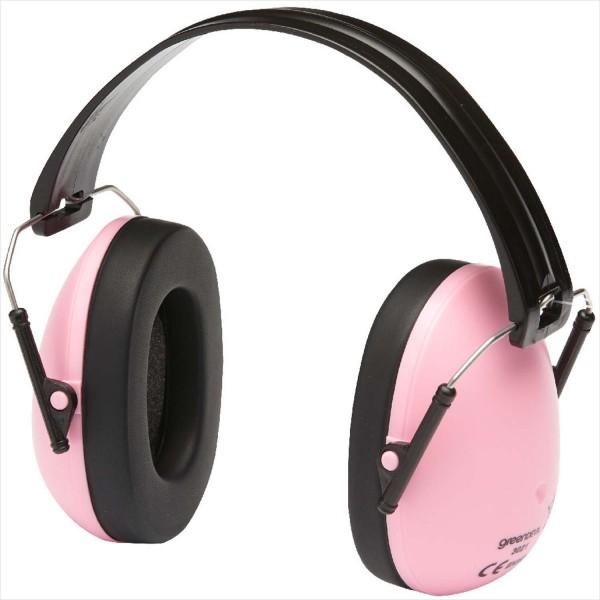 Kapsel-Gehörschutz Safety Kids Pink (Lärmschutz-Kopfhörer) speziell für Kinder