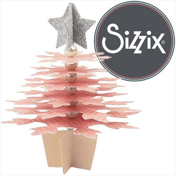 Sizzix Bigz: Snowflakes Christmas Tree