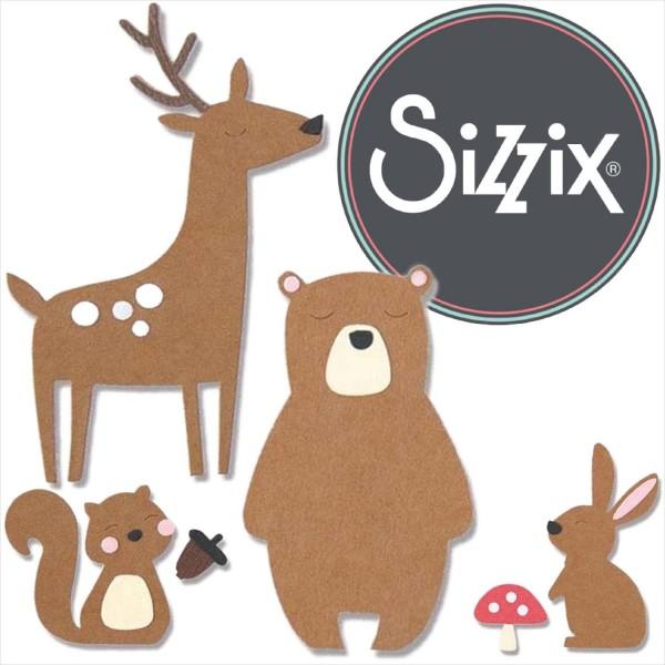 Sizzix Bigz: Forest Friends