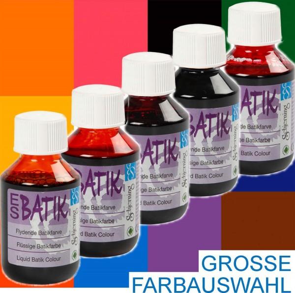 Batikfarbe 100 ml, Preis pro Flasche