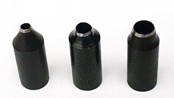 Drillstanzer Ersatzteile: Locheinsätze zur Herstellung von Löchern, je 1 x 2, 3 und 4 mm