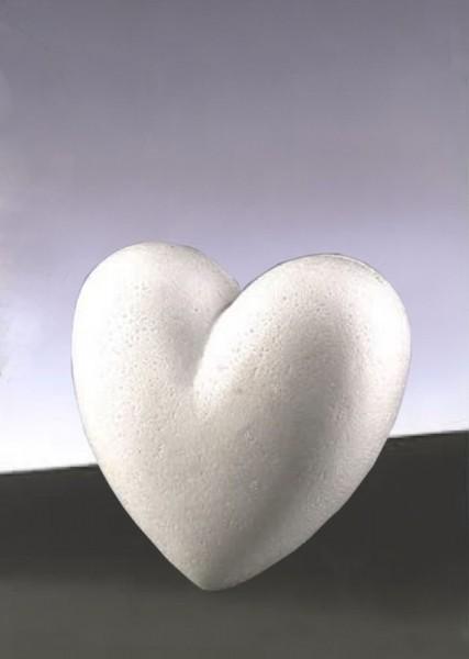 Styropor-Herzen