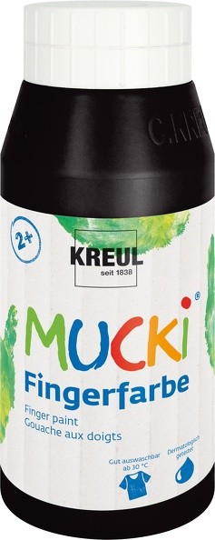 Mucki Fingerfarbe von Kreul, 750 ml