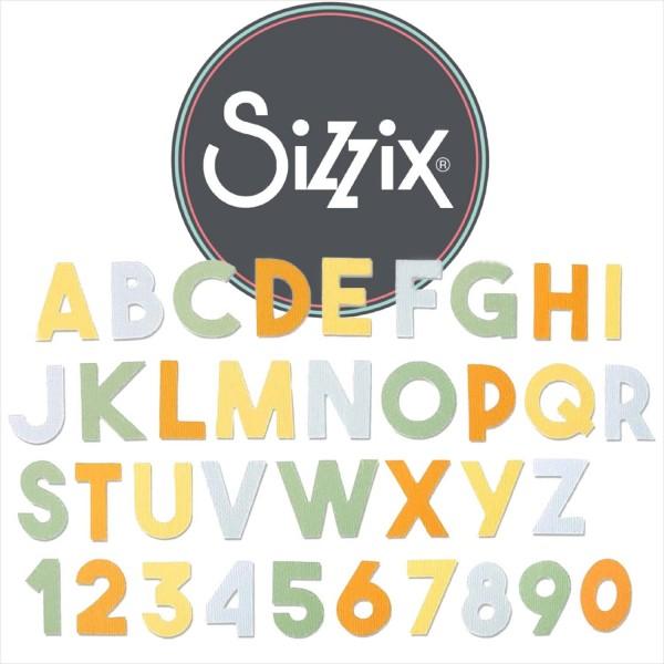 Sizzix Bigz XL: ABC und Ziffern Chunky