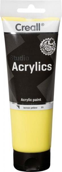 Acrylfarbe Creall Studio, 250 ml Tube, 27 verschiedene Farben
