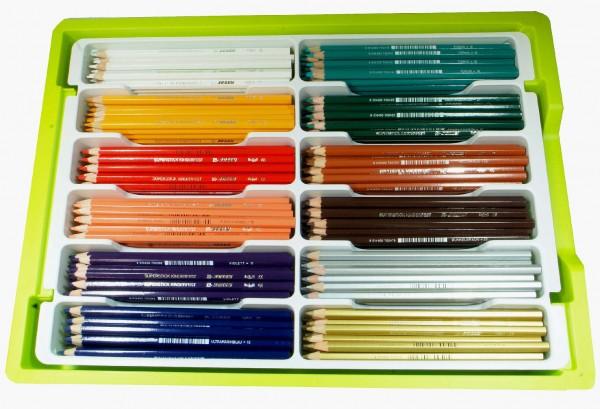 Jolly Kinderfest Buntstifte 240 Stück in 12 Ergänzungsfarben in der Big Box