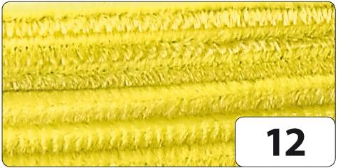 Pfeifenputzer, Durchmesser 8 mm, Länge 50 cm, 10 Stück pro Farbe