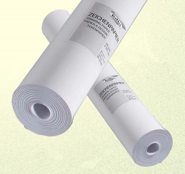 Zeichenpapierrolle 80 g, Breite 50 cm, Länge 50 m, Preis pro Rolle