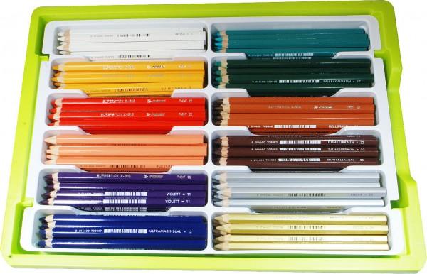 Jolly X-BIG Buntstifte 180 Stück in den 12 Ergänzungsfarben