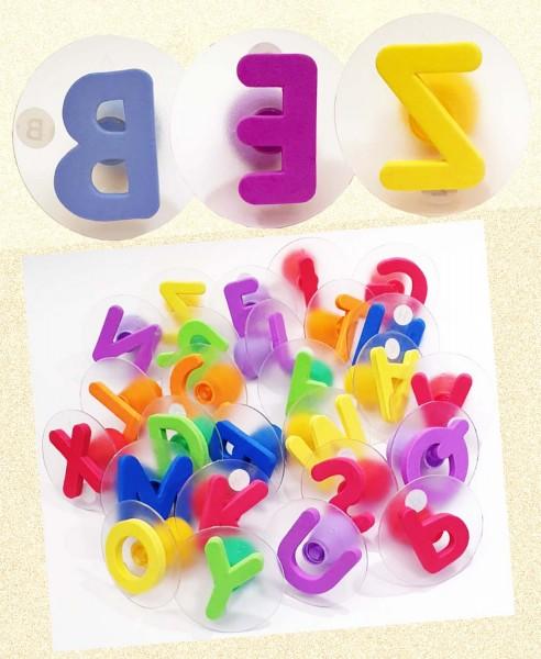 Riesenstempel Groß-Buchstaben, Packung mit 26 Stück