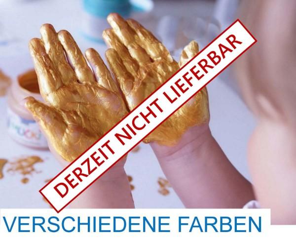 Mucki Funkel-Fingerfarbe im Metallic-Look von Kreul, 500 ml