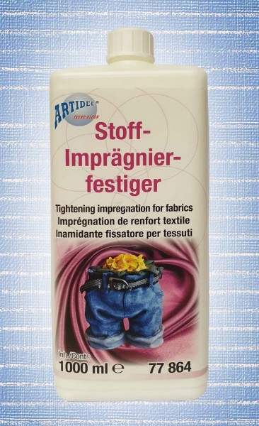 Stoff-Imprägnierfestiger (Stoffsteif), wetterfest, Inhalt 1000 ml