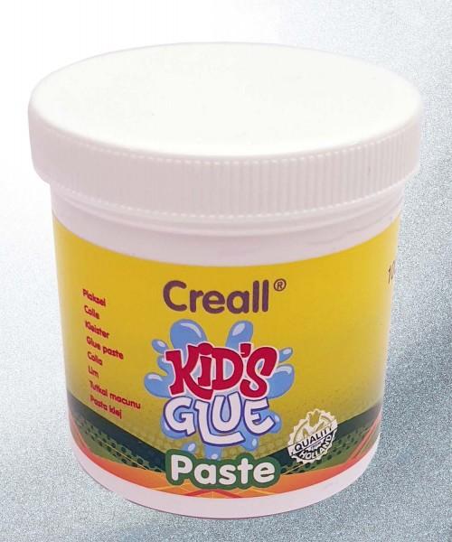 Creall Kids Glue Finger-Klebepaste für Kinder ab 2 Jahren, 100 g Dose
