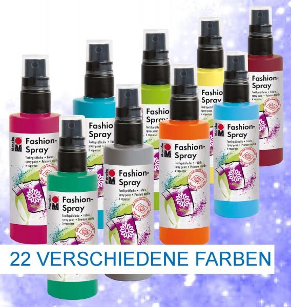 Textilsprühfarbe Fashion-Spray von Marabu, 100 ml, Preis pro Stück