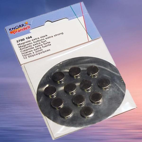Mini-Scheibenmagnet, Preis pro Packung mit 12 Stück