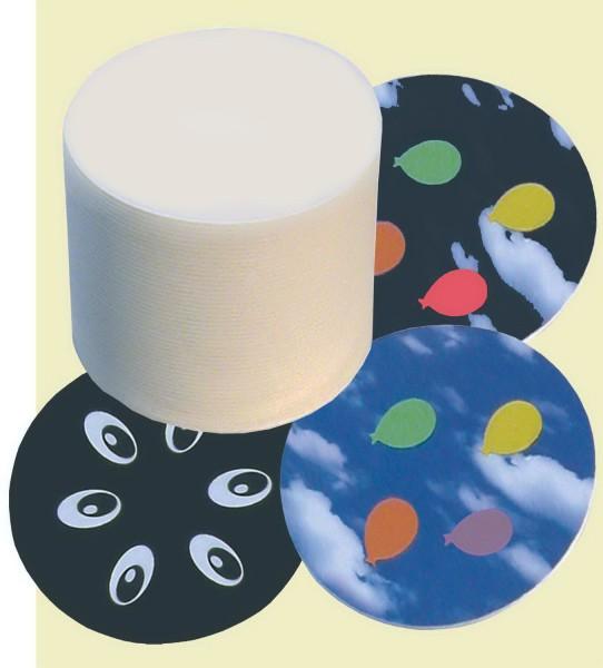 Bierdeckel rund, Durchmesser 10,7 cm, 100 Stück