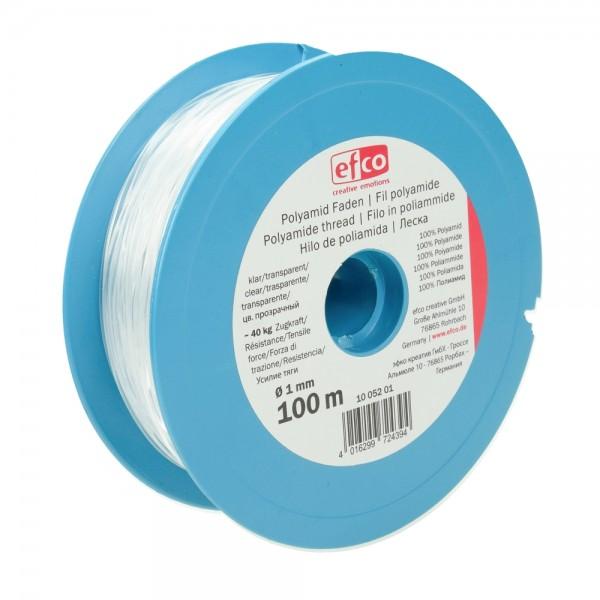 Nylonfaden / Perlonfaden 100 m Rolle, Preis pro Stück