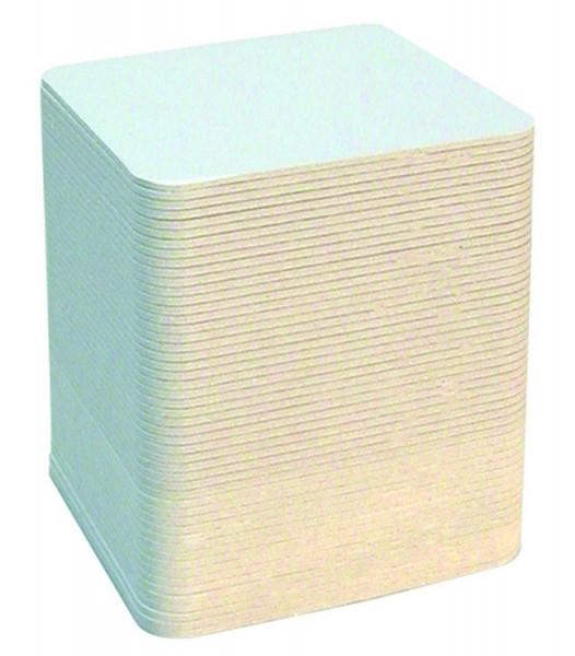 Bierdeckel quadratisch, 9,3 x 9,3 cm, 100 Stück