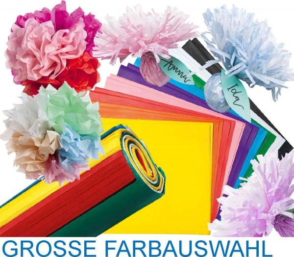 Blumenseide / Seidenpapier gefalzt 26 Bögen 50 x 70 cm
