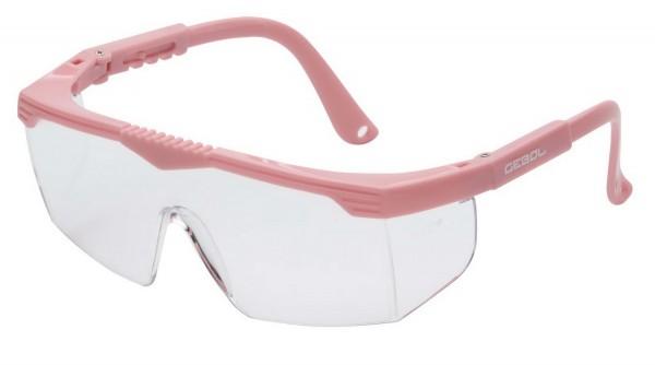 Schutzbrille Safety Kids Pink speziell für Kinder