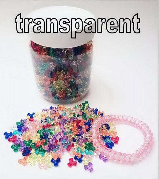 Propel-Perlen zum Fädeln von Armbändern, Halsketten, Schlüsselanhänger, etc., Preis pro Dose