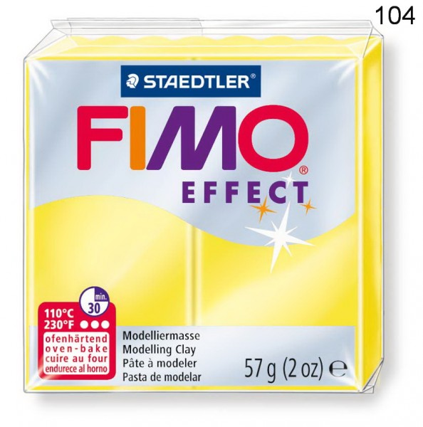 Fimo Effect Transparent, 57 g, Preis pro Stück