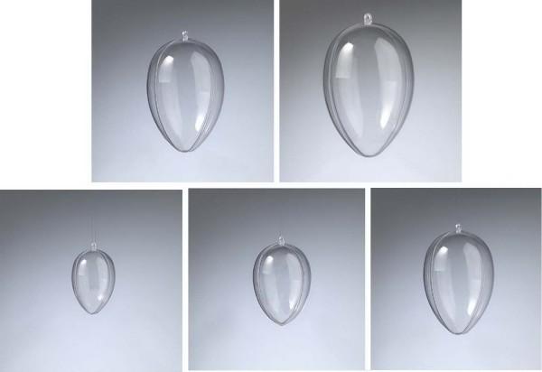 Acrylglas-Ei glasklar zum Öffnen