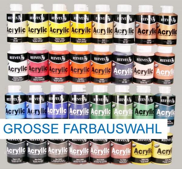 Acrylfarben von Reeves, 400 ml, Preis pro Flasche