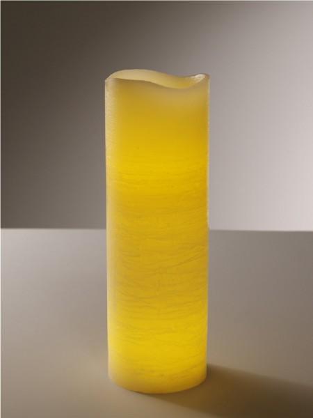 LED-Echtwachskerze Indoor, 10 x 30 cm