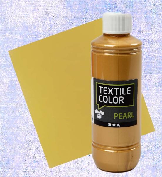 Textilfarbe Gold 250 ml
