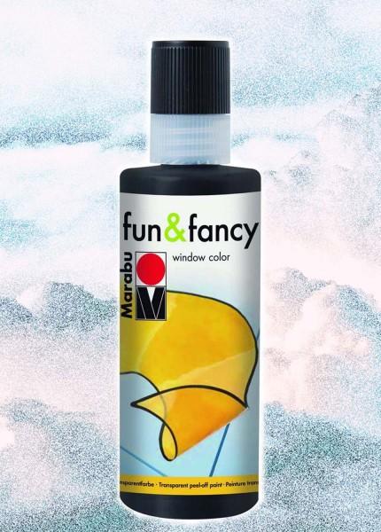 Window Color Fun & Fancy von Marabu, Konturenfarbe schwarz, 80 ml