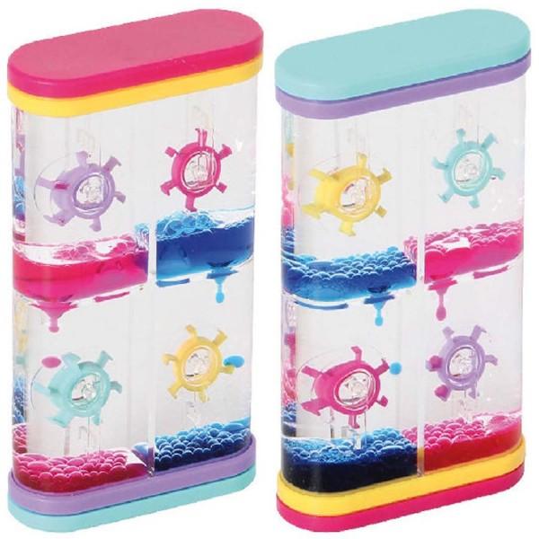 Liquid Timer mit Rädern, 2 Stück in zwei Farben sortiert
