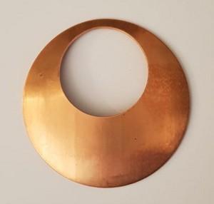 Kupferrohlinge für Farbschmelzpulver, 10 Stück pro Packung